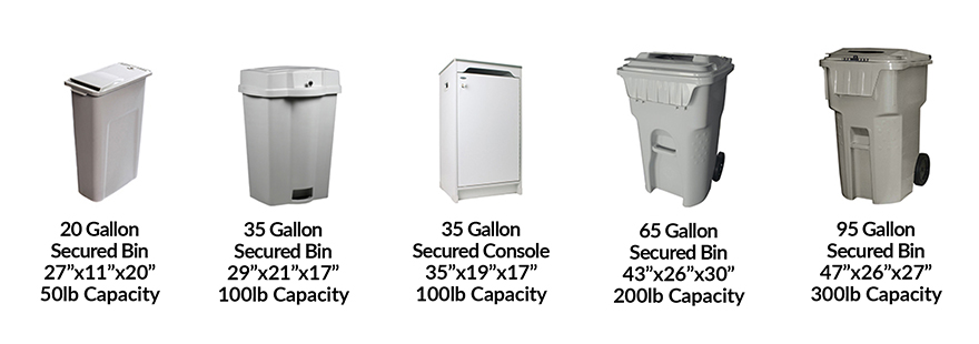 Sierra Shred Containers